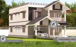 Contemporary Indian House Designs with 3D Elevation Plan Collections