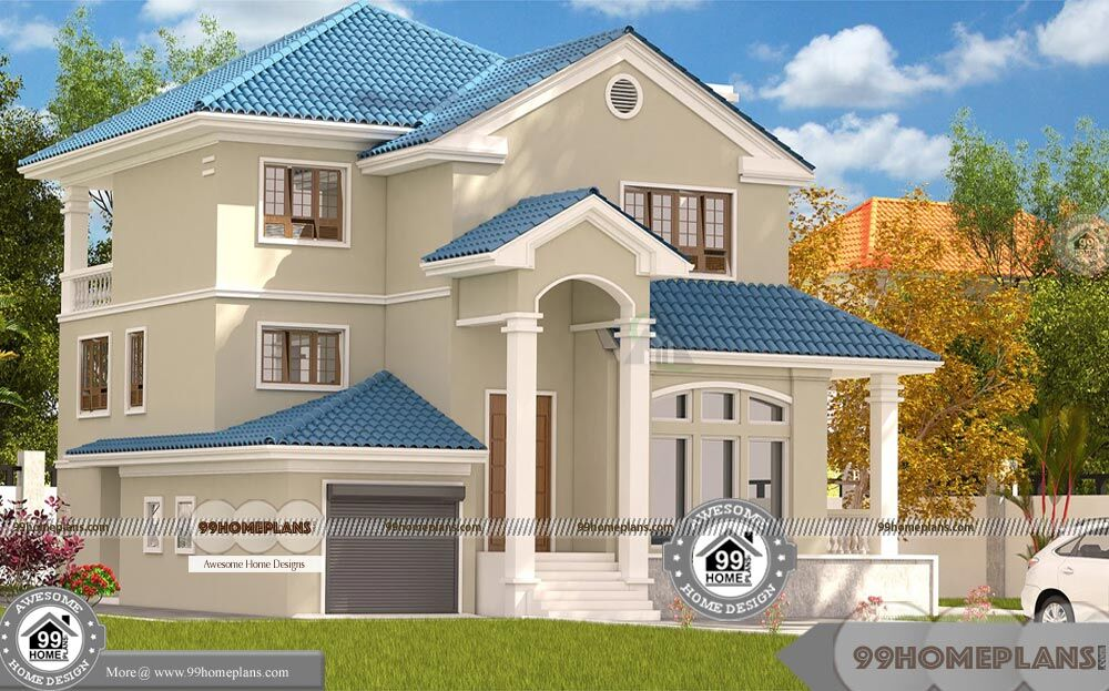 Contemporary Indian House Plans Free with Two Story Home ...