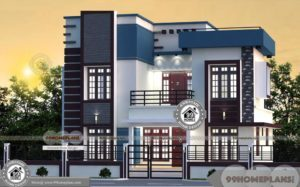 Contemporary Style Kerala Homes Free Designs & Elevation At 1689 sq ft