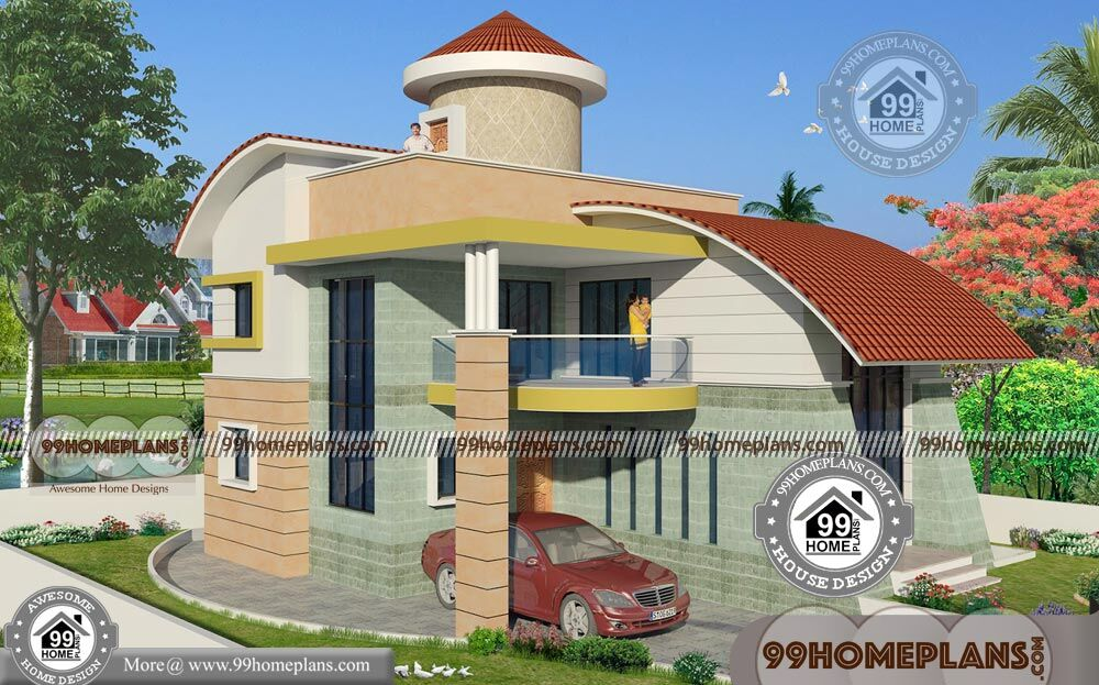 Corner block house designs with very cute and stylish 2 for Corner block home designs