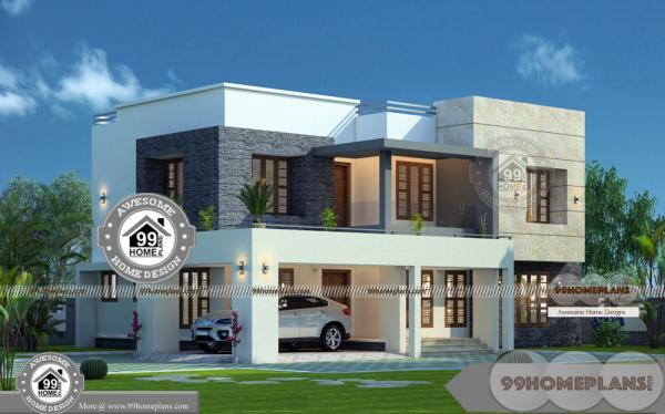 Design Of 2 Storey House Designs with Italian Modern Projects