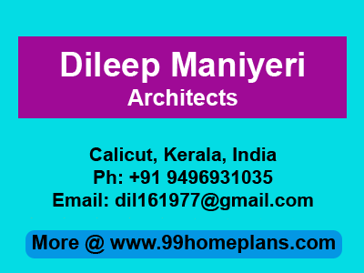 Dileep Maniyeri Architects in Calicut