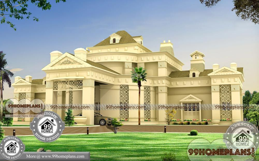 Budget Of This House Is 102 Lakhs Double Storey Bungalow Design