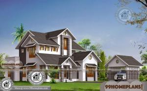 Double Storey House Plans & Modern Traditional / Contemporary Designs
