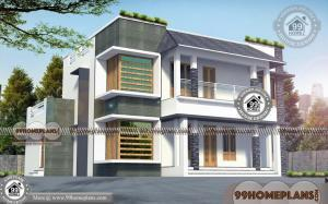 Double Story Modern House Plans with Mind Blowing Collections of Home