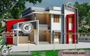 Dream Plan Home Design With 2 Floor Urban Style Box Type House Plans