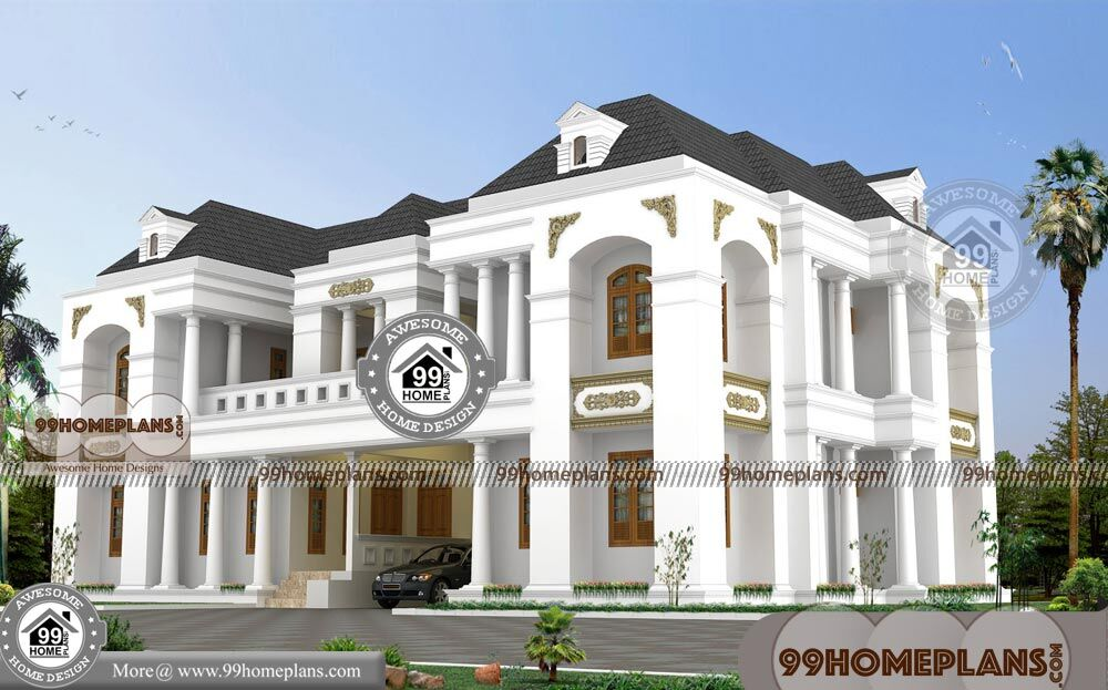 Exterior Designs For Bungalows with Two Floor Low Budget Modular Plans
