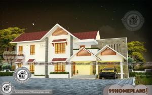 Home Design Kerala Traditional with Two Floor Ultra Modern Plans Free