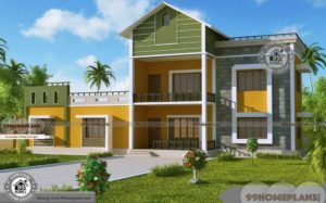 House Building Architectural Design with Spacious & Awesome Plans Free