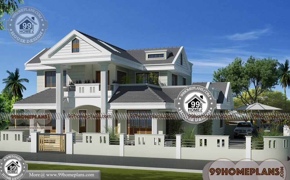 House Design Two Story Simple With Affordable And Cost