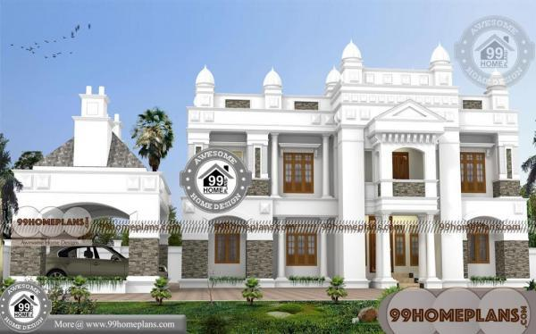 House Plans Bungalow With Garage with 2 Floor Less Expensive Designs