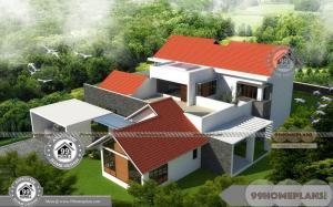House Plans With Side Garage Entrance with Large Typical Home Designs
