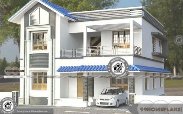 Indian Farmhouse Designs Photos Double Floor Modern Home Plans Free