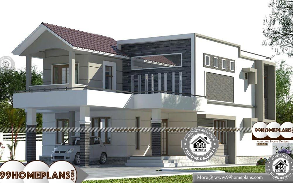 Indian House Designs and Floor Plan Free - 2 Story 2780 sqft-Home