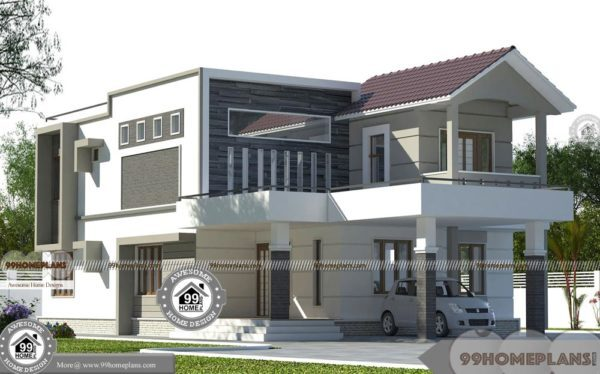 Indian House Designs And Floor Plan Free Download, 2 Story Home Plan