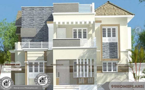 Indian House Front Elevation Photos For Single Of Two Floor Plans