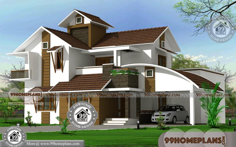 Kerala Contemporary House Plans Of Architects And Interior Designers
