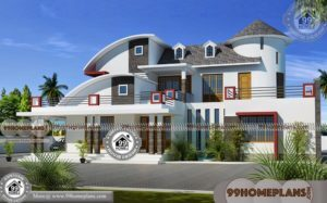 Kerala Home Design Contemporary with Double Story Modern Collections