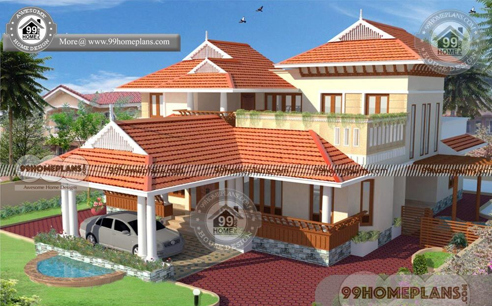 Kerala Nalukettu House Plans With Nadumuttam Styles Of