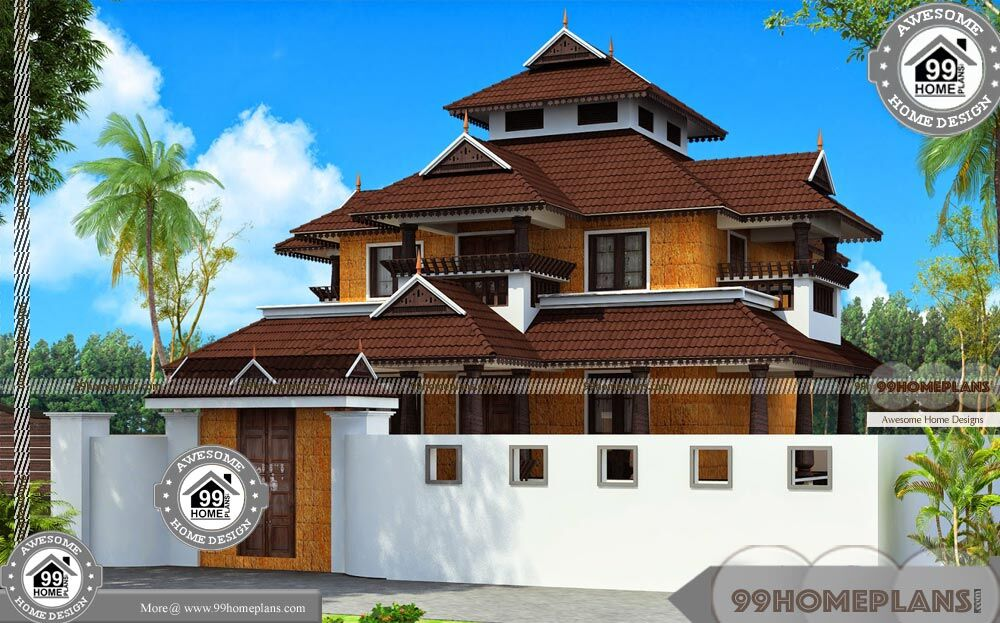 Kerala Old Houses Nalukettu Veedu With Traditional Royal Home Designs