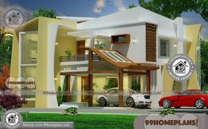 Latest Home Design Ideas with 2 Floor Modular Contemporary Plans Free