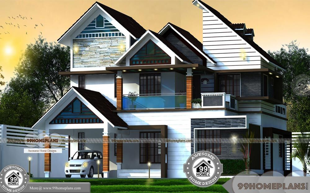 Latest Home Plans And Designs In Kerala Free Download