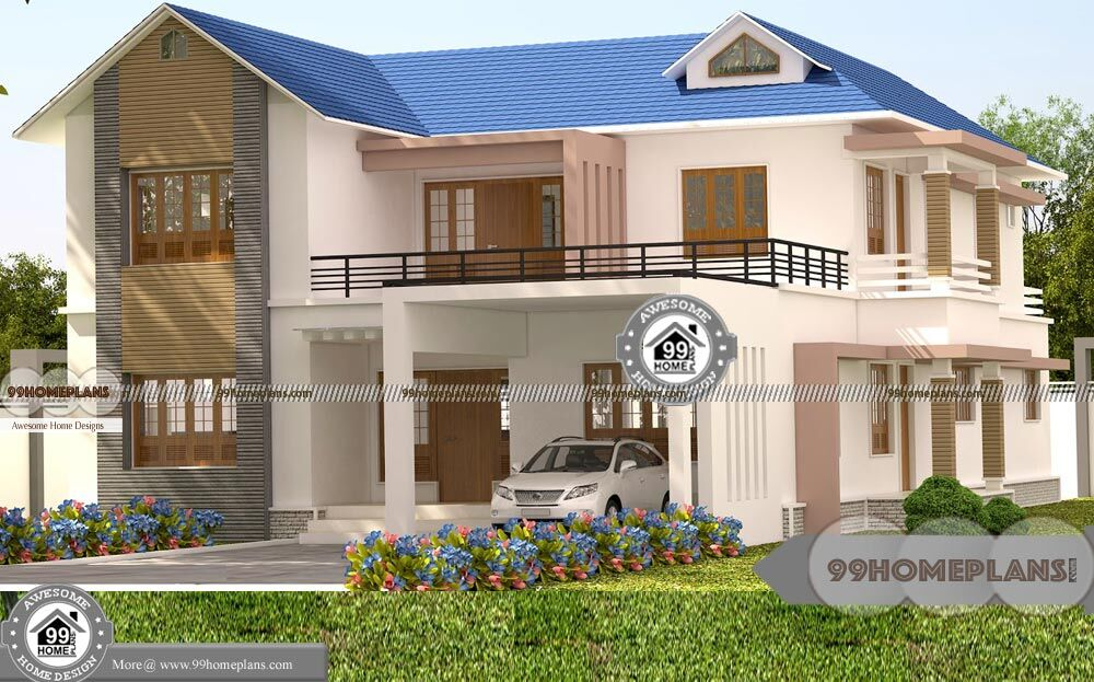 Latest House Models In Tamilnadu With Double Story Modern Homes Free