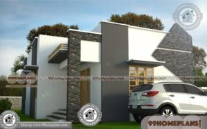 Luxury 1 Story House Plans with Cute Flat Roof Home Collections Free