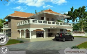 Luxury Double Storey Homes with Wide Balcony and Cute Selected Plans