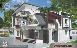 Luxury Home Plans With Photos of 2 Story Contemporary House Designs