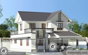 Minimalist Home Design Free and Double Floor Cute House Plan Ideas