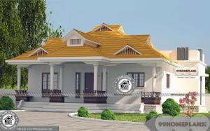 Modern 1 Story House Designs with Traditional Patterned Home Collection