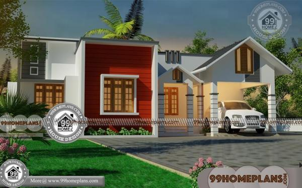 Modern 1 Story House Plans With Indian Style Simple Home Collections