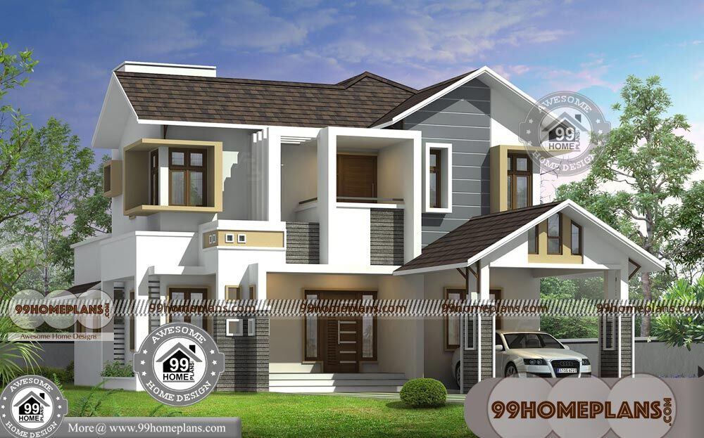 Modern 2 Storey House Designs And Floor Plans | Grand ...