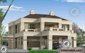 Modern Bungalow House Plan with Two Floor Stylish Structural Designs