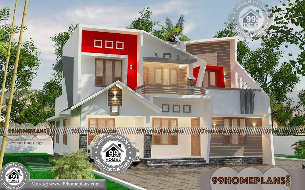 Modern contemporary homes designs with 2 floor awesome for Modern house design collection