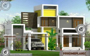 Modern Contemporary House Plans Designs with 2 Floor Simple Models