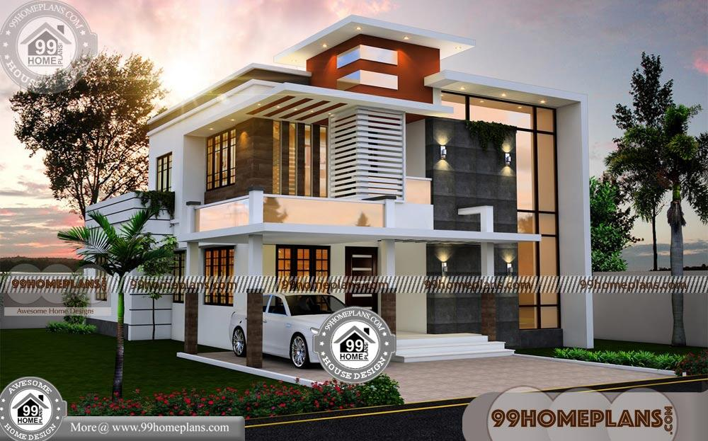 Modern Flat Roof House Designs Grand Gorgeous Home Floor Plans