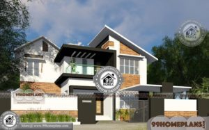 Modern Luxury House Plans And Designs of 2 Floor Contemporary Models