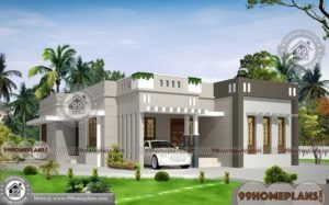Modern One Story House Designs And Floor Plans with Low Budgets Idea