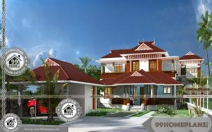 Modern Residential Architecture Floor Plans 2 Story Out House Designs