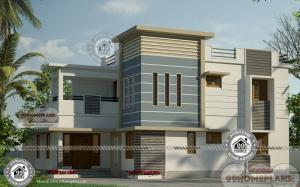 Narrow 3 Bedroom House Plans with Cost Effective Home Design Pictures