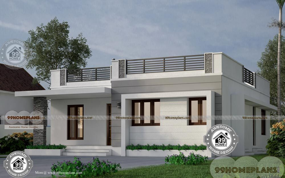 narrow lot house plans single story simple low budget awesome ideas - View Small House Low Budget Low Cost Simple Modern House Design Background