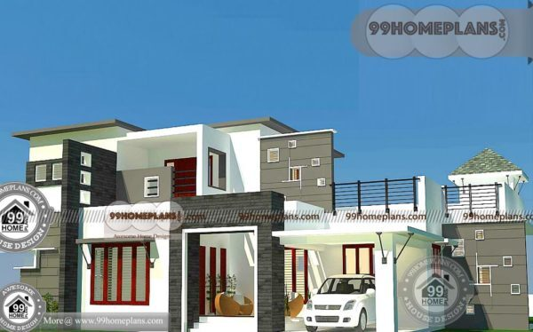 New Contemporary Home Designs with Double Floor Modern Collections