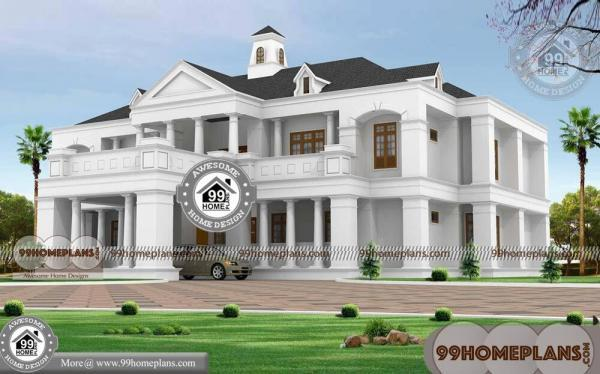 Old Style Bungalow House Plans with 2 Floor Concepts of Dream Homes