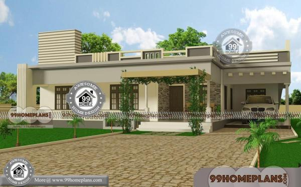 One Floor Modern House Design With Simple Low Budget Home Collection