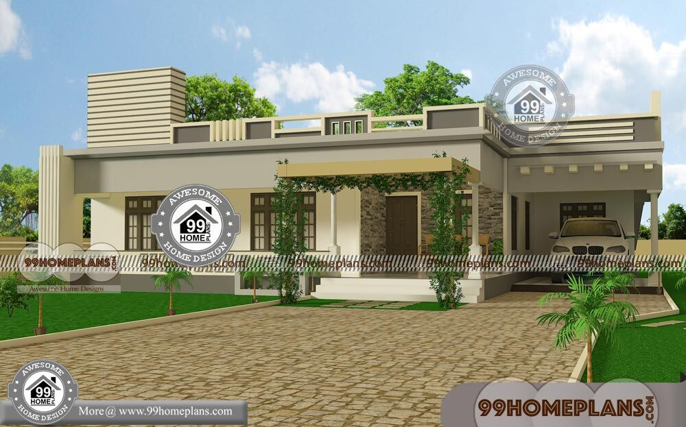 Budget Of This House Is 24 Lakhs U2013 One Floor Modern House Design