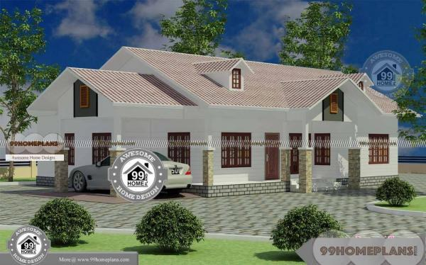 One Story Colonial House Plans with Modern Style Dream Home Designs
