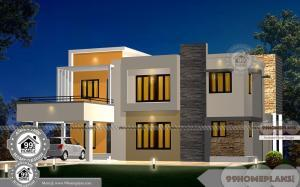 Open Plan Modern House Designs with Very Popular Flat Pattern Plans