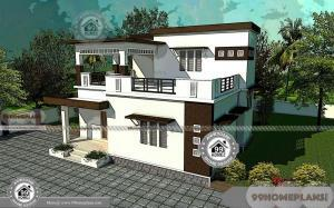 Original Building Plans For My House with Two Floor Modern Home Design
